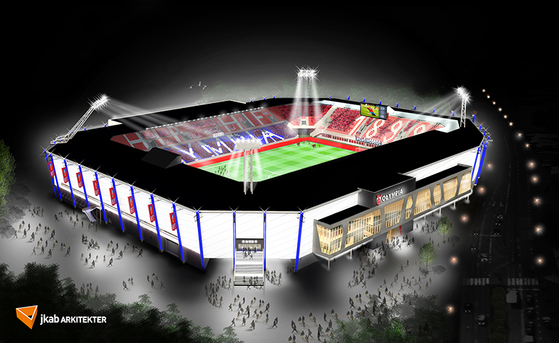 Nya Olympia i Helsingborg blir inte bara fotbollsarena - Dagensprojekt.se b38c16e01a9a1
